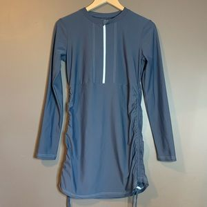 Mott 50 grey 1/4 swim dress